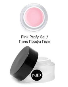 Гель скульптурный камуфлирующий Pink Profy Gel 15мл 977.50руб