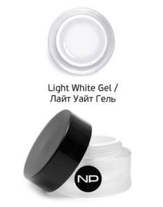 Гель цветной для прорисовки линии улыбки Light White Gel 5мл 490руб