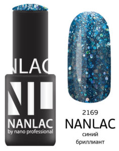 NL 2169 синий бриллиант 6мл 545руб