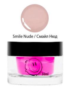 Гель однофазный камуфлирующий Smile Nude Gel 30мл 1190руб