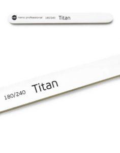 Пилка для натуральных ногтей Titan 180/240 1шт. 100руб