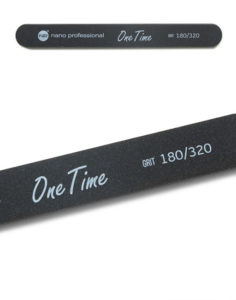 Пилка One Time 180/320 1шт. 60руб