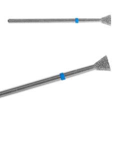 Бор алмазный Обратный Конус 010 050 (средняя,синяя) 250руб