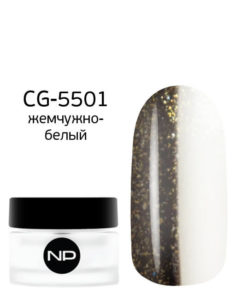 CG-5501 жемчужно-белый 5мл 490руб